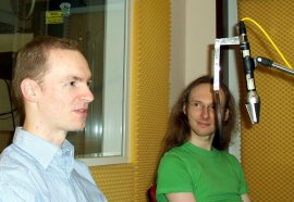 Interview, Svante und Sven